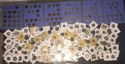 Big Old World Coin Lot Silver Sleeve Coins Foreign Estate Find Collection Nice