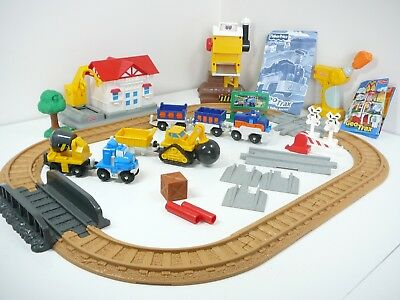 Geotrax Rail N Road System Cross Valley Junction Fisher Price Train Set Instruc