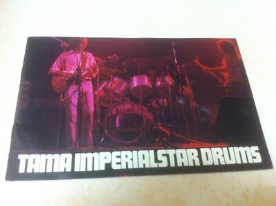 TAMA 1976 12 page Color Drum Catalog In Very Good Condition