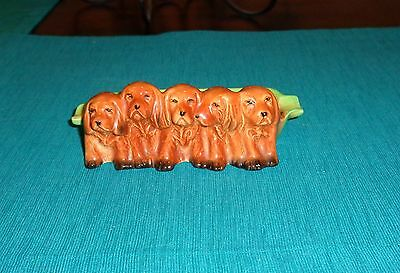 Beswick Puppy Dogs Ashtray / Pipe Rest .. Made In England .. No 869