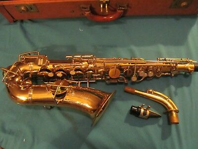Antique 1927-28 Saxophone Best of Martin Elkard, Ind -Reseller -Weymann Philo,Pa