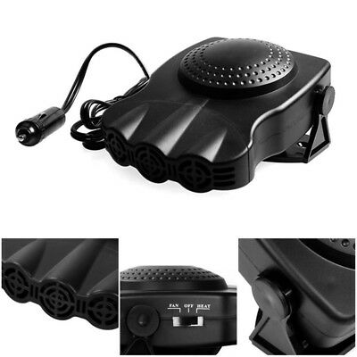 New Style 12V 150W Portable Car Heating Cooling Fan Heater Defroster Demister