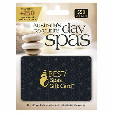 Best Spa Gift Card $50