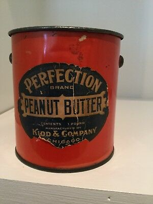 Perfection Peanut Butter Tin Pail