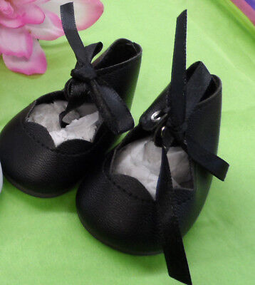 """Reproduction Shoes For 16"""" Terri Lee Doll    Black"""