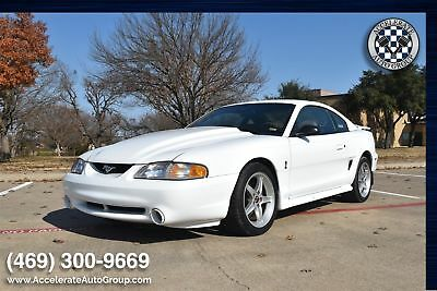 1995 Ford Cobra R ONLY 9,500 MILES, SUPER NICE 1995 White ONLY 9,500 MILES, SUPER NICE!