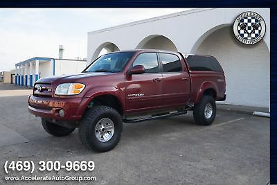 2004 Toyota Tundra LIMITED TRD LIFTED NICE!!! 2004 Red LIMITED TRD LIFTED NICE!!!!