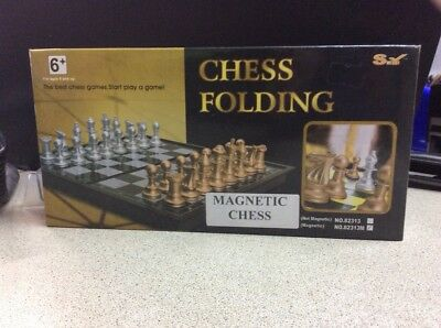 Magnetic Folding Chessboard Chess Board Set