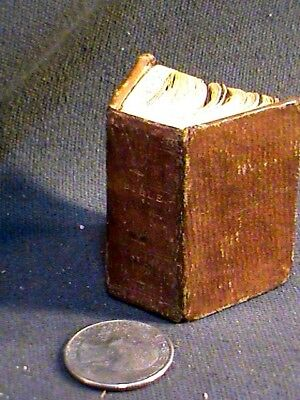 antique miniature bk: History of the Bible, 1820, Lansingburgh, NY, eng.