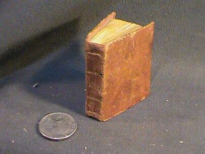 antique miniature bk:  History of the Bible, New-London 1851, eng.