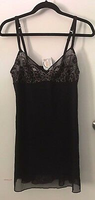 Intimo Harper Chemise Size 12/ Black/ New With Tags