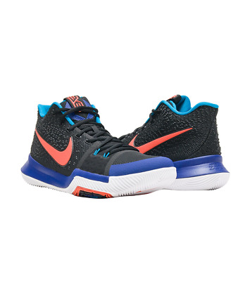 6a74e6d75e5 NIKE KYRIE 3 Kyrache Light Black Team Orange Concord Irving 852395 ...