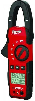 Milwaukee Clamp Meter Electrical Current Tester 400Amp AC Digital Measuring Tool