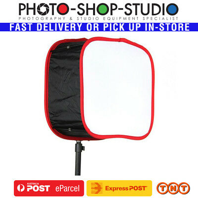 Kamerar D-Fuse 41 x 41 cm Quick Set Up LED Panel Softbox Kit *Aus stock*