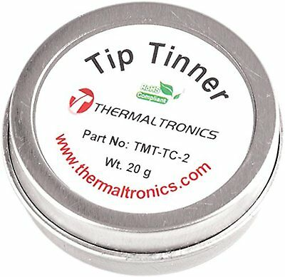 Thermaltronics TMT-TC-2 Lead Free Tip Tinner (20g) in 0.8oz Container Soldering