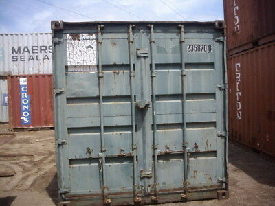 Shipping Container Auction starting at 99 cents in Newcastle - it's a Roughy