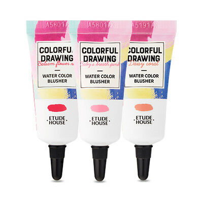 [ETUDE HOUSE] Colorful Drawing Water Color Blusher - 10g