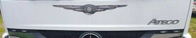 Mercedes Atego Front Chest Trim Super Polished Stainless Steel 1 Pcs