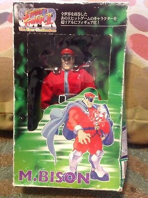 Rare Street Fighter II The New Challengers- M. Bison-Japanese toy figure