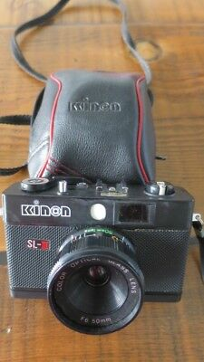 Kinon SL-III - 35mm Film Camera with original bag