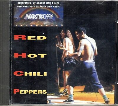 Red Hot Chili Peppers – Woodstock 1994 - CD 1995