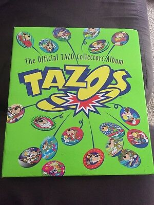 The official tazo collection folder with tazo's