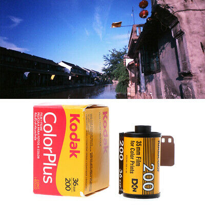 For LOMO Camera 1 Roll Color Plus ISO 200 35mm 135 Format 36EXP Negative Film