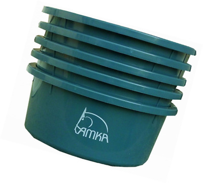 Amka  Animal Feed Bowls with Lid, 2 Litres, Bowls