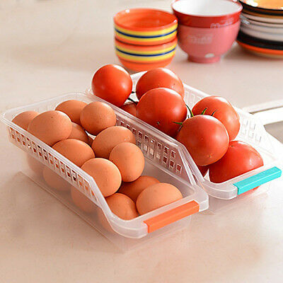 Kitchen Storage Box For Refrigerator Vegetable Fruit Food Organizer Container Ka