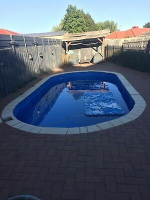 Stern pool steel frame and lino only, no copers.