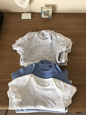 Bundle Of Baby Boys Vests 9-12 Months (13 Items)