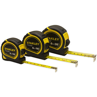 Stanley Pocket Tape Measure with Tylon Blade 3m / 5m / 8m