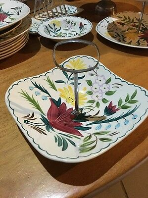 Midwinter Bella Vista Square Dish With Handle