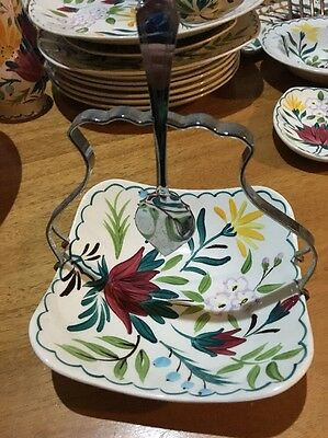 Midwinter Bella Vista Square Dish With Handle And Serving Spoon