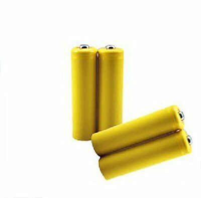 aa size dummy battery qty 4 shorted slug short circuit reduce4 x pack dummy battery aa size fake placeholder shell conductor electric current