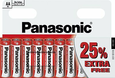 10 x Panasonic AA 2917 Zinc R06R0 Special Power Battery Long Expiry Toys & Game