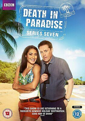 Death In Paradise - Series 7  with Ardal O'Hanlon New (DVD  2017)