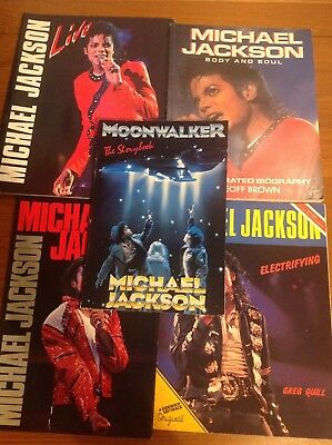 Michael Jackson Collectors Books Bundle