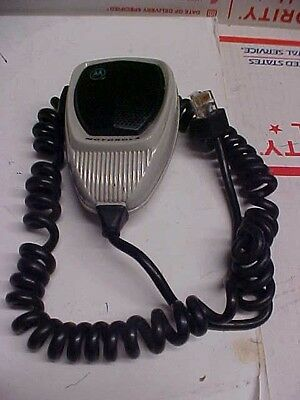 FINAL Motorola maxtrac radius mobile radio full size palm mic hmn1056a #12c135