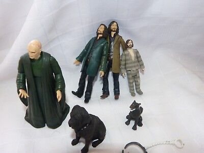 Harry Potter  VOLDERMORT  action figure and others dog bundle toys