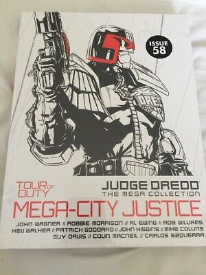 DREDD Mega Collection: Tour Of Duty Mega City Justice Issue 58 Vol 48 NEW Sealed
