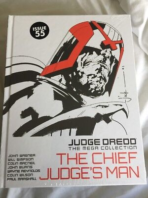 Judge DREDD Mega Collection: The Chief Judge's Man: Issue 55 (Vol 52) NEW Sealed
