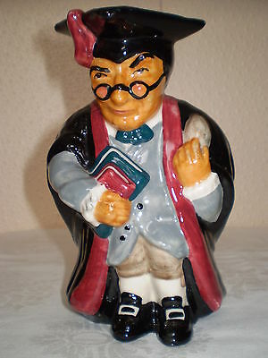 Roy Kirkham Pottery Toby Jug - Schoolmaster - Porcelain/China - Made in England
