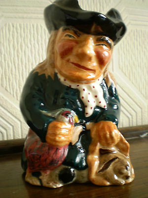 Roy Kirkham Pottery - Toby Jug - Thief - Made in England
