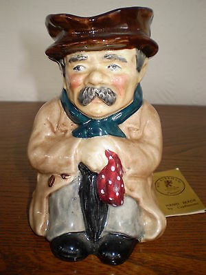 Roy Kirkham Toby Jug - Poorman - Porcelain/China - Made in England