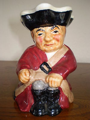Roy Kirkham Toby Jug - Soldier - Porcelain/China - Made in England