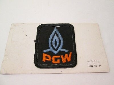 Pgw  Philadelphia Gas Works Utility Company Workers Patch Pa Old Twill