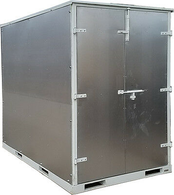 5x8 Portable Storage Container Mobile Box pod shed shipping crate