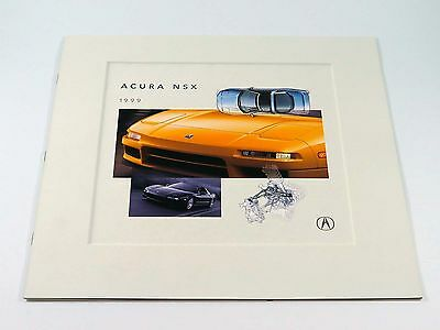 Acura NSX Sales Brochure Catalog 1999