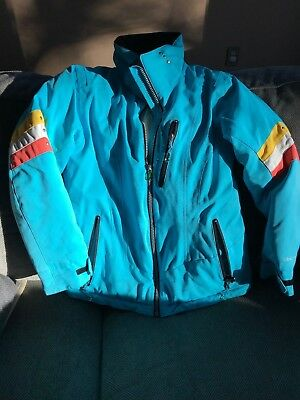 Girls Obermeyer Winter Ski Jacket-Beautiful Pre Loved Condition Size Juniors 12